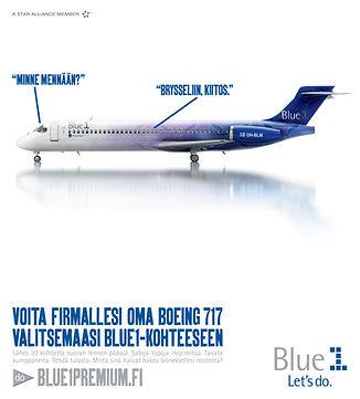 Blue1 Premium Kauppalehti etusivu