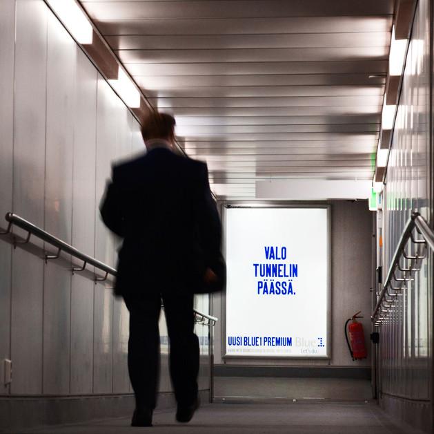 Blue1 Premium lanseerauskampanja >