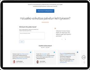 Suomi.fi-kampanjasivu