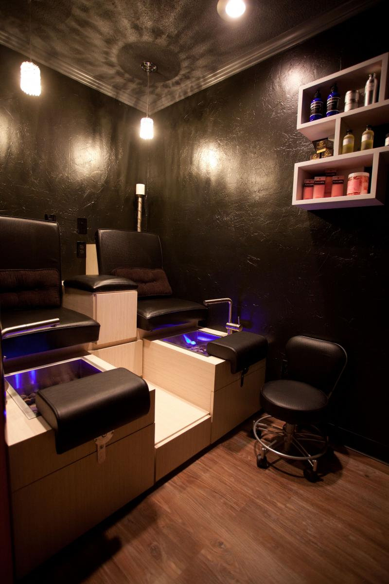 Step into our Pedicure Room