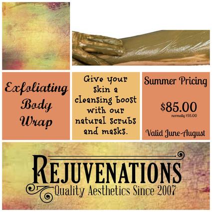Exfoliating Body Wrap Special