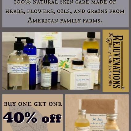 Farmaesthetics Skin Care Sale!