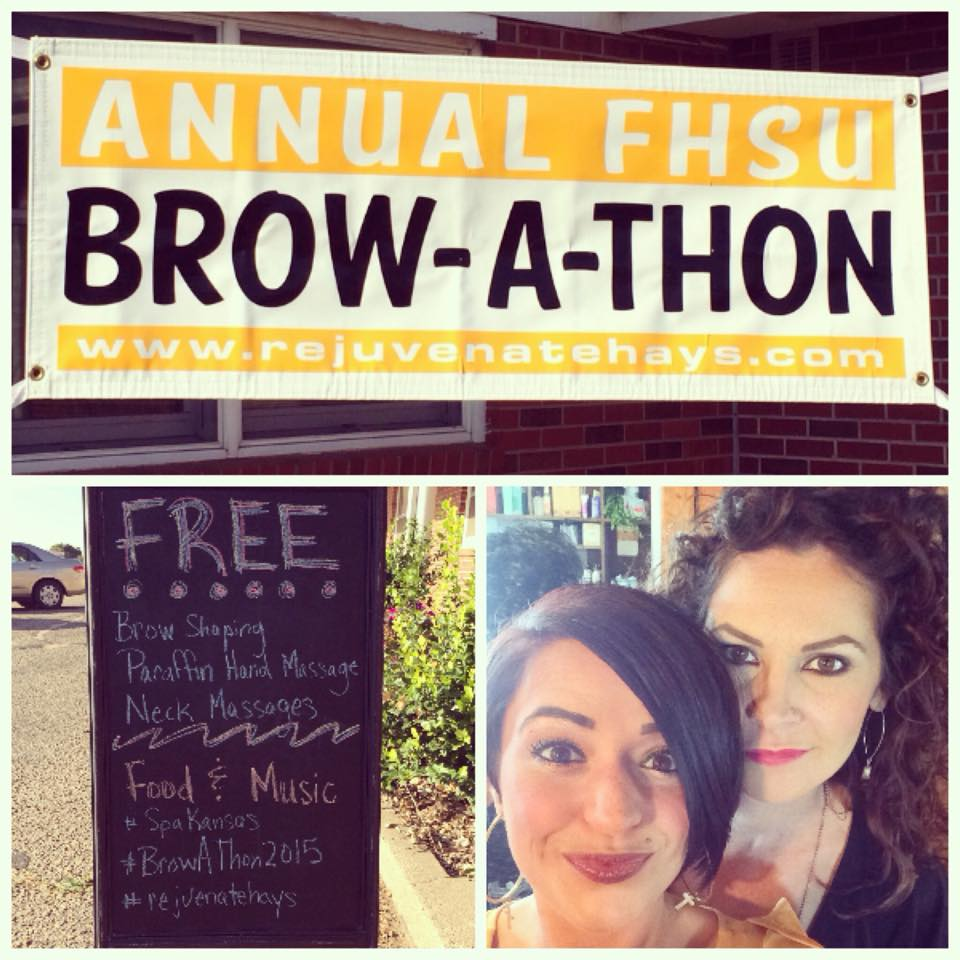 Annual Brow-A-Thon