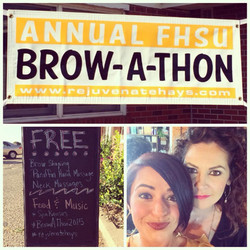 Annual Brow-A-Thon