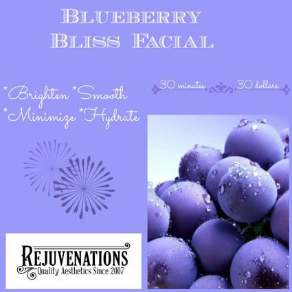 Alchimie Blueberry Bliss Facial