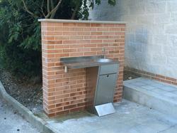 031_lavabo mensola inox