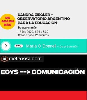 Informe del Observatorio Argentino para la Educación