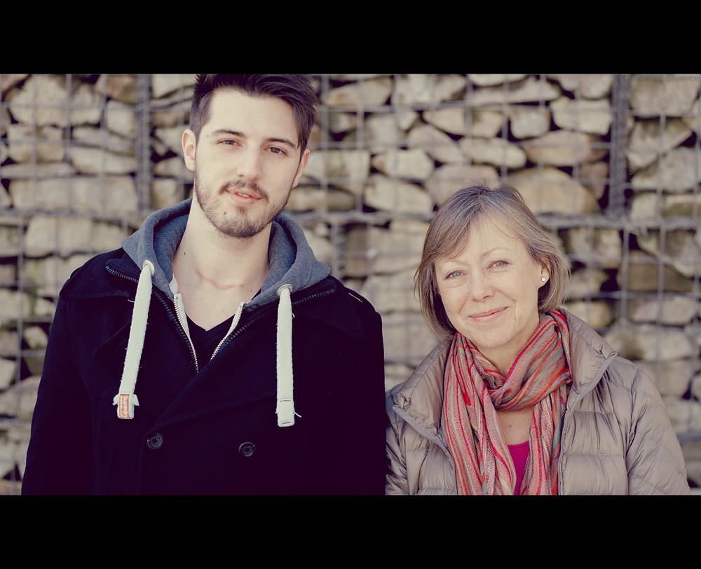 Alex (ScribbleStache) & Jenny Agutter