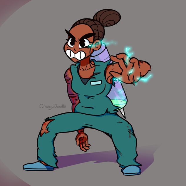 Brave Battle Nurse - Character Design Ch