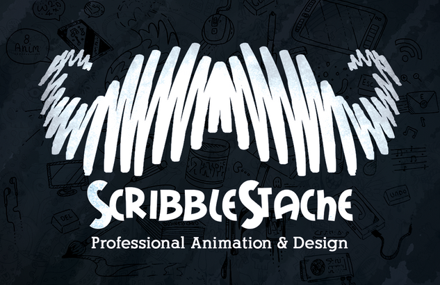 ScribbleStache Business Cards (2018)