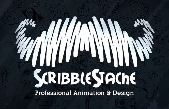 ScribbleStache Business Cards (2018)