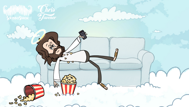 Jesus On The Sofa