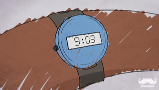 9:03am