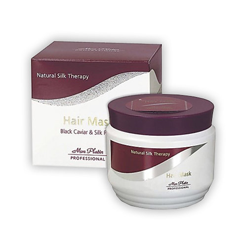 Mon Platin Hair Mask for Straightened Hair with Black Caviar