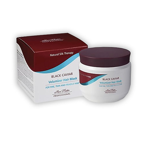 Mon Platin Natural Silk Therapy Volumizer Hair Mask with Black Caviar