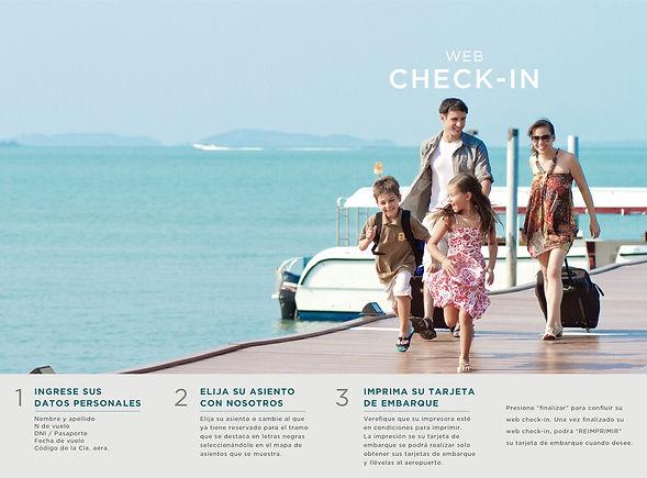 web check in, chequearse, aerolinea, asiento, economico, boleto, P&A Travel, vuelo, oferta