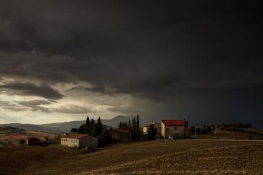Unwetter in der Toscana