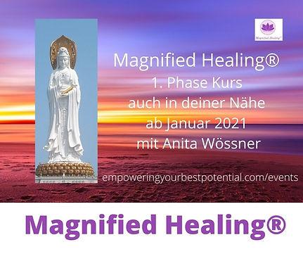 Magnified Healing® 1. Phase Kurs Memming