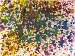 Action Painting Faye en Jente II