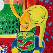 De kat van Matisse