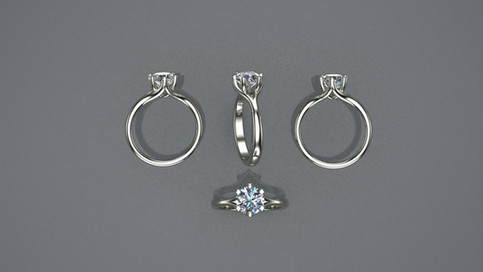 Classic 6 Prong Ring