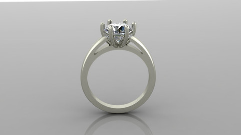 Classic 6 Prong Solitaire Ring