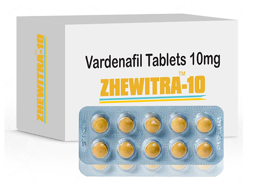 Zhewitra 10 mg Tablet