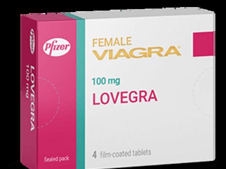 Lovegra 100mg (Sildenafil Citrate)