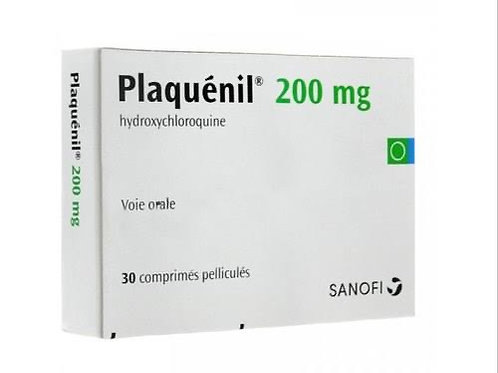 Plaquenil 200 mg Tablet (Hydroxychloroquine)