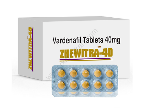 Zhewitra 40 mg Tablet