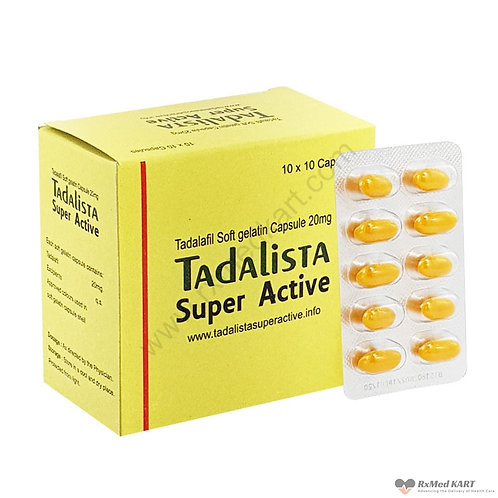 Tadalista Super Active Tablet