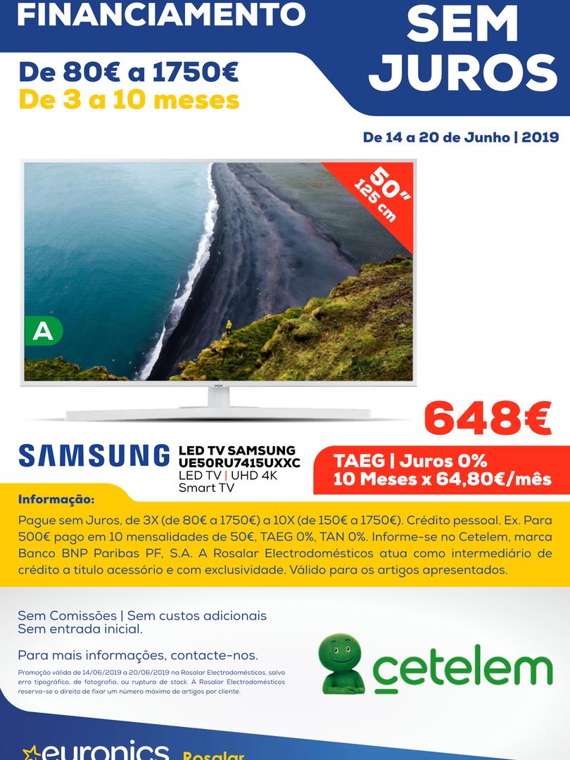 Cetelem _ LED TV SAMSUNG UE50RU7415UXXC.