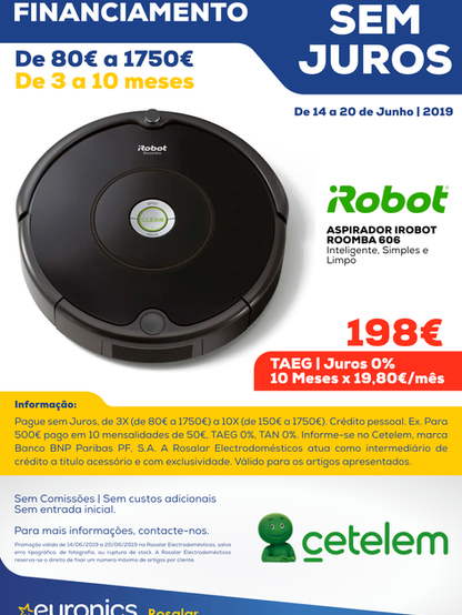 Cetelem _ Aspirador iRobot Roomba 606.pn