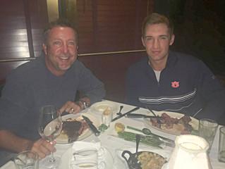 Coach Dale and Brandon Mancheno Celebrate