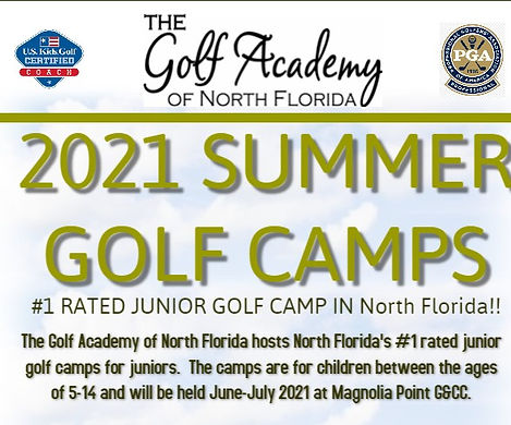 TGANF SUMMER 2021 GOLF CAMPS FLYER_top p