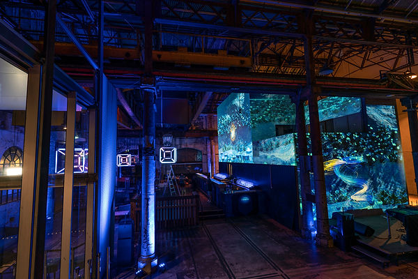 carriageworks bombay sapphire projections.jpg