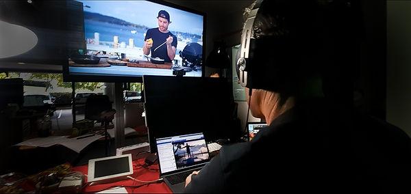 live streaming studio broadcast editing post