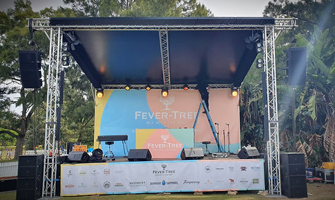 Fever Tree Gin Festival Stage