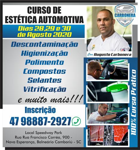 Curso - Carbonera Studio Car Detail - Ag
