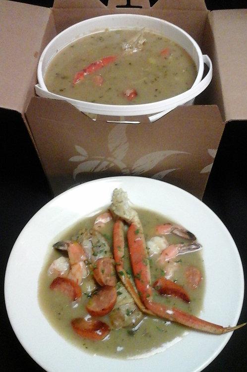 Seafood Filé Gumbo