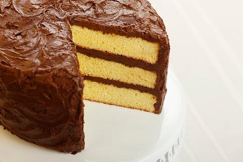 Yellow with Chocolate Fudge