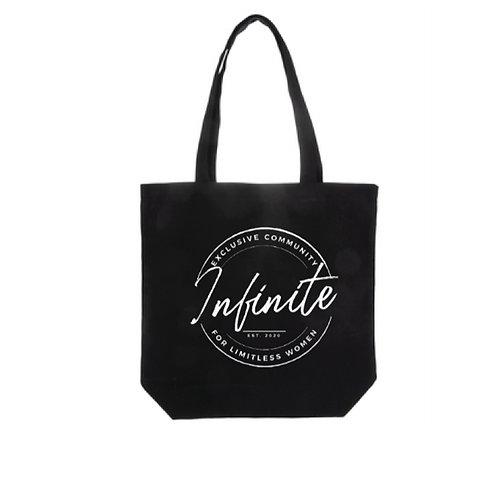 Infinite Tote Bag Black