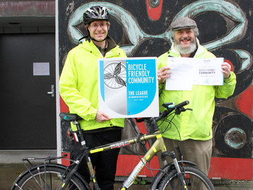Sitka upgrades to Silver level in Bicycle Friendly Community program