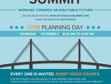 Sitka Health Summit planning day set for Thursday, Oct. 4