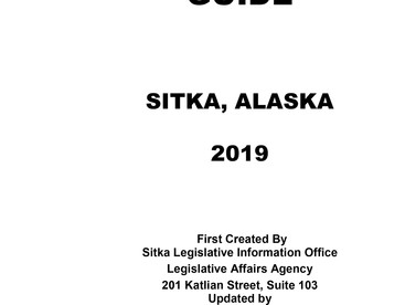 Updated Sitka Community Resources guide booklet now available