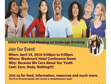 Town Hall Meeting on Underage Drinking