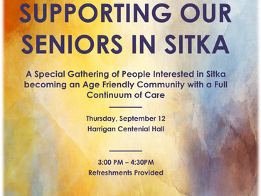 Supporting Our Seniors In Sitka meeting helps Sitka improve elder care