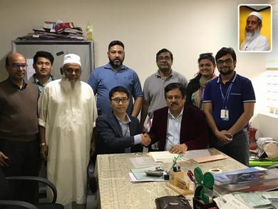 We agreed with Yamagata-Dhaka Friendship General Hospital to do checkup service.