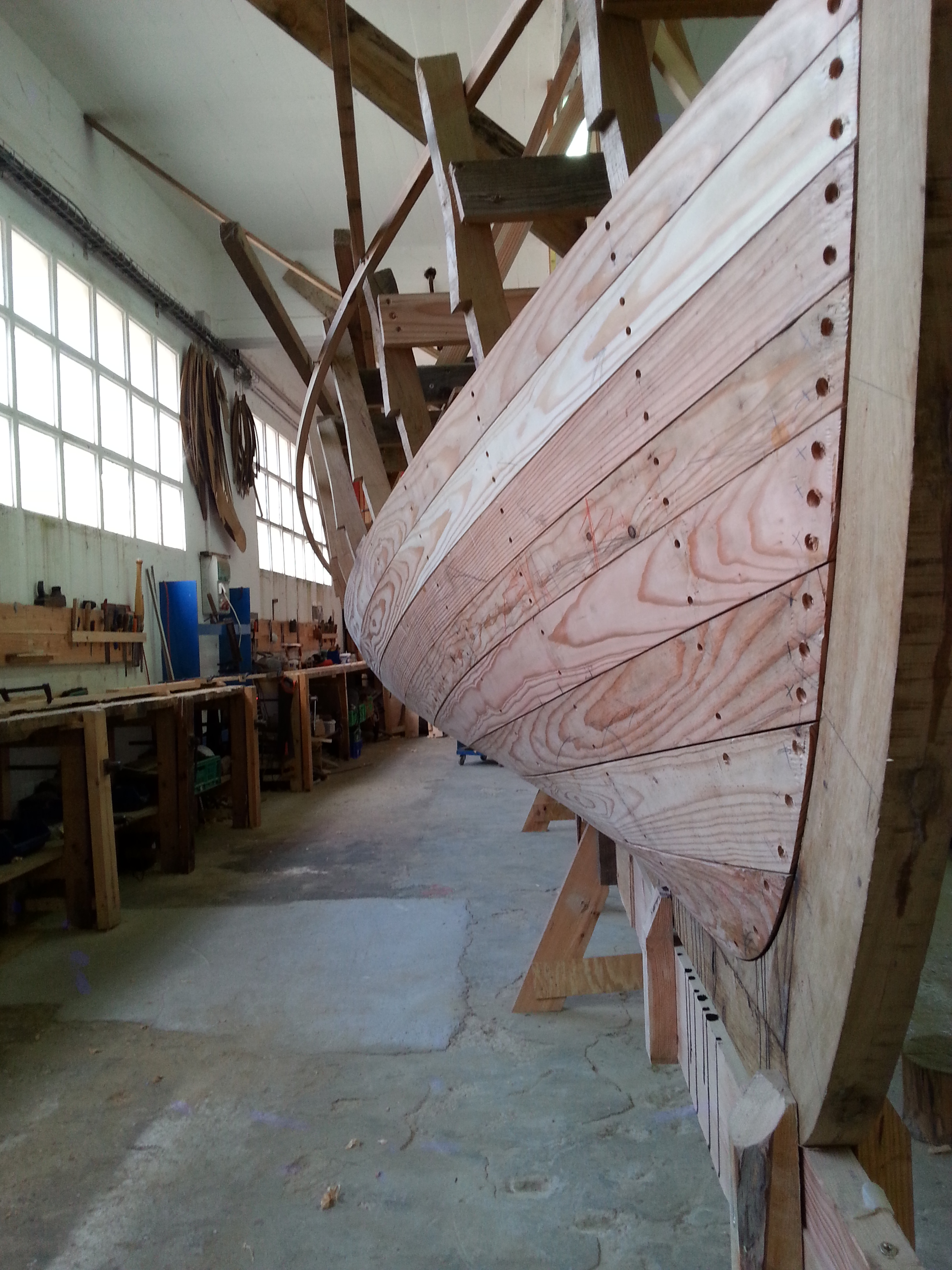 Traditional whaling ship