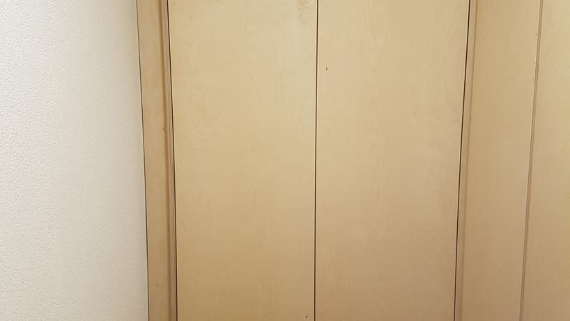 Berken walk-in closet